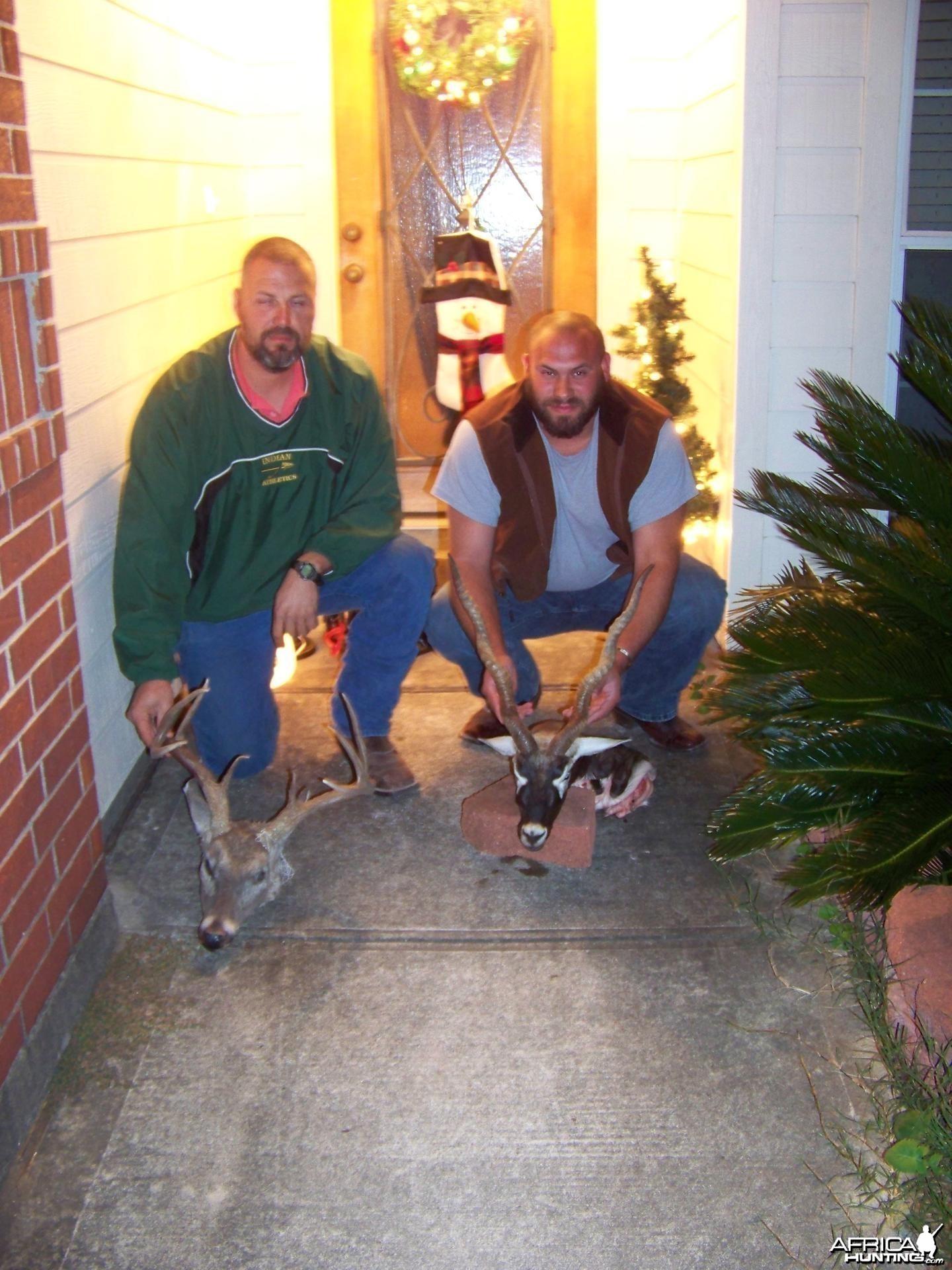 Whitetail and Blackbuck Hunt Texas