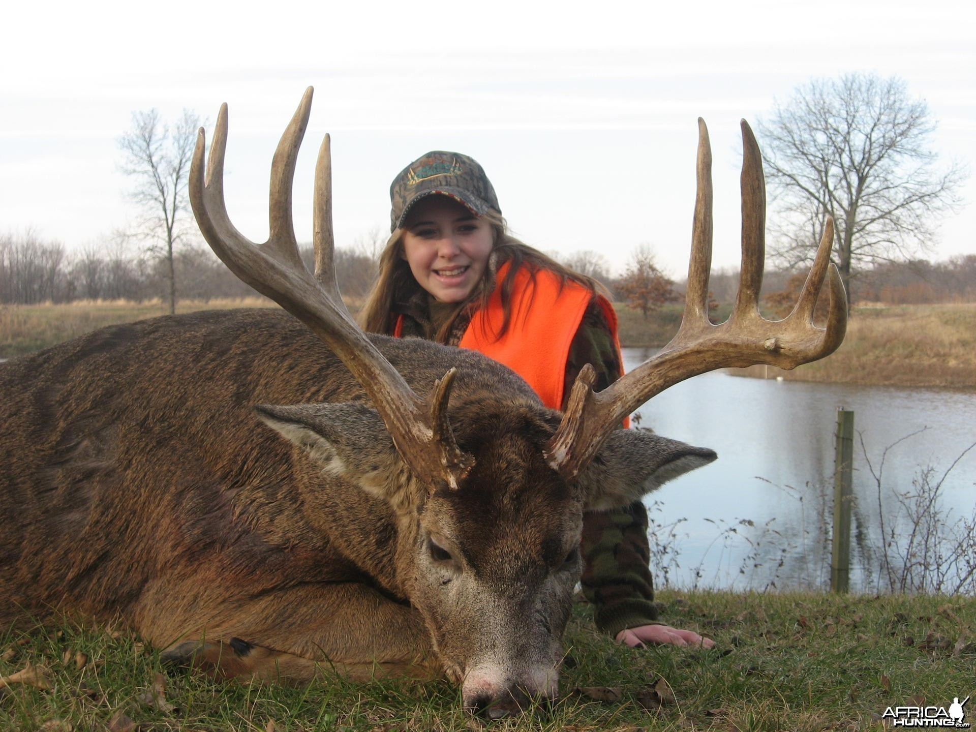 My Daughter Taylor is my hunting buddie and oh yeah she can hunt