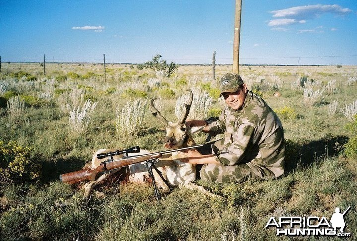 Hunting Antelope