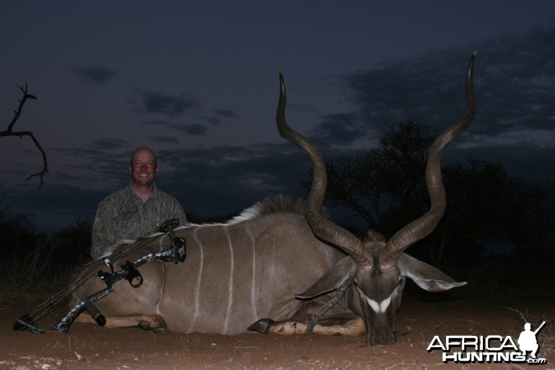 Limpopo, RSA. Archery Kudu taken with Intrepid Safaris