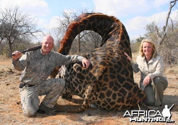 Old Bull Giraffe taken in South Africa with Intrepid Safaris
