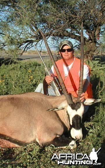 Oryx Hunt New Mexico