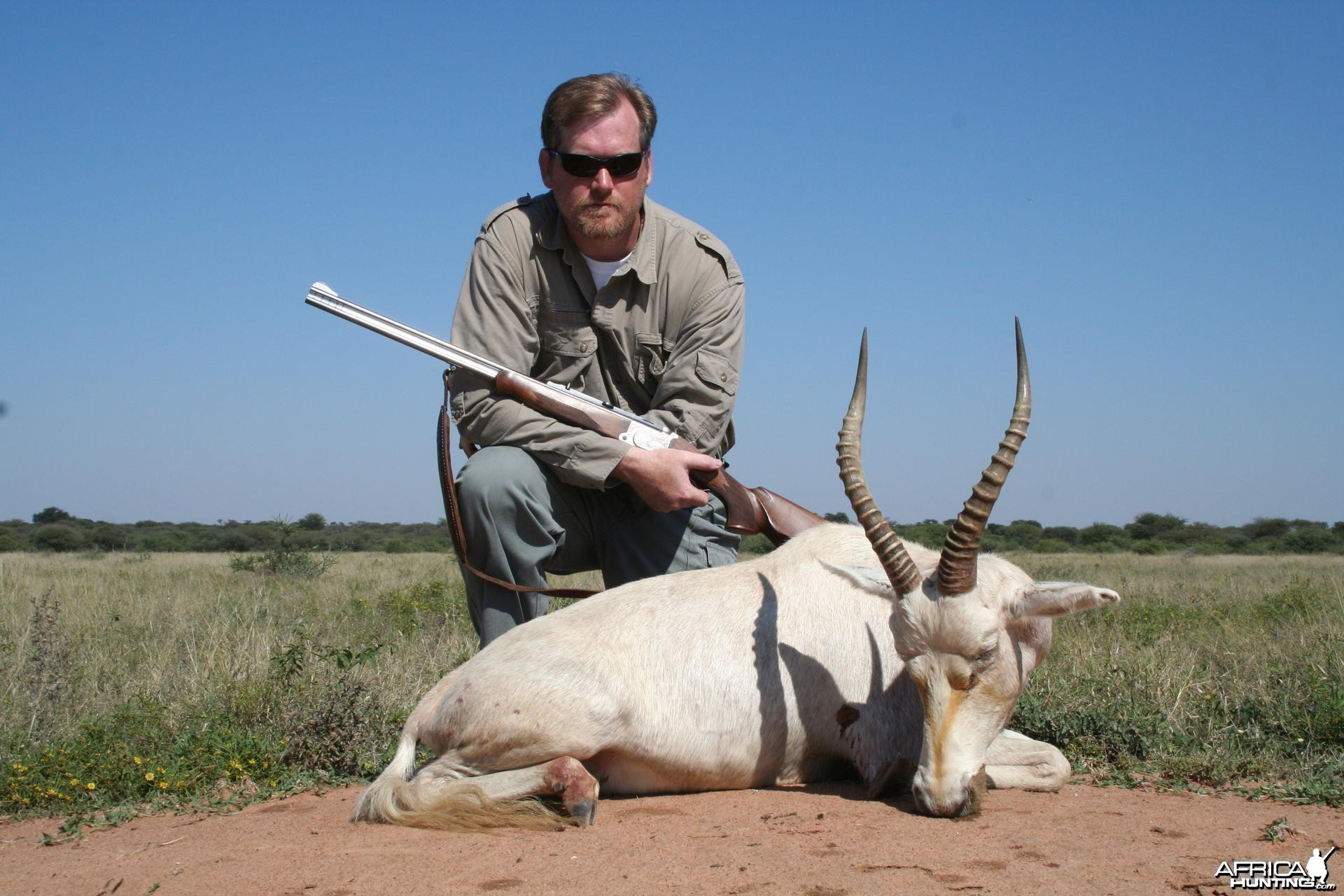 White Blesbok Hunt
