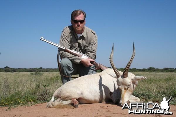 White Blesbok Hunt