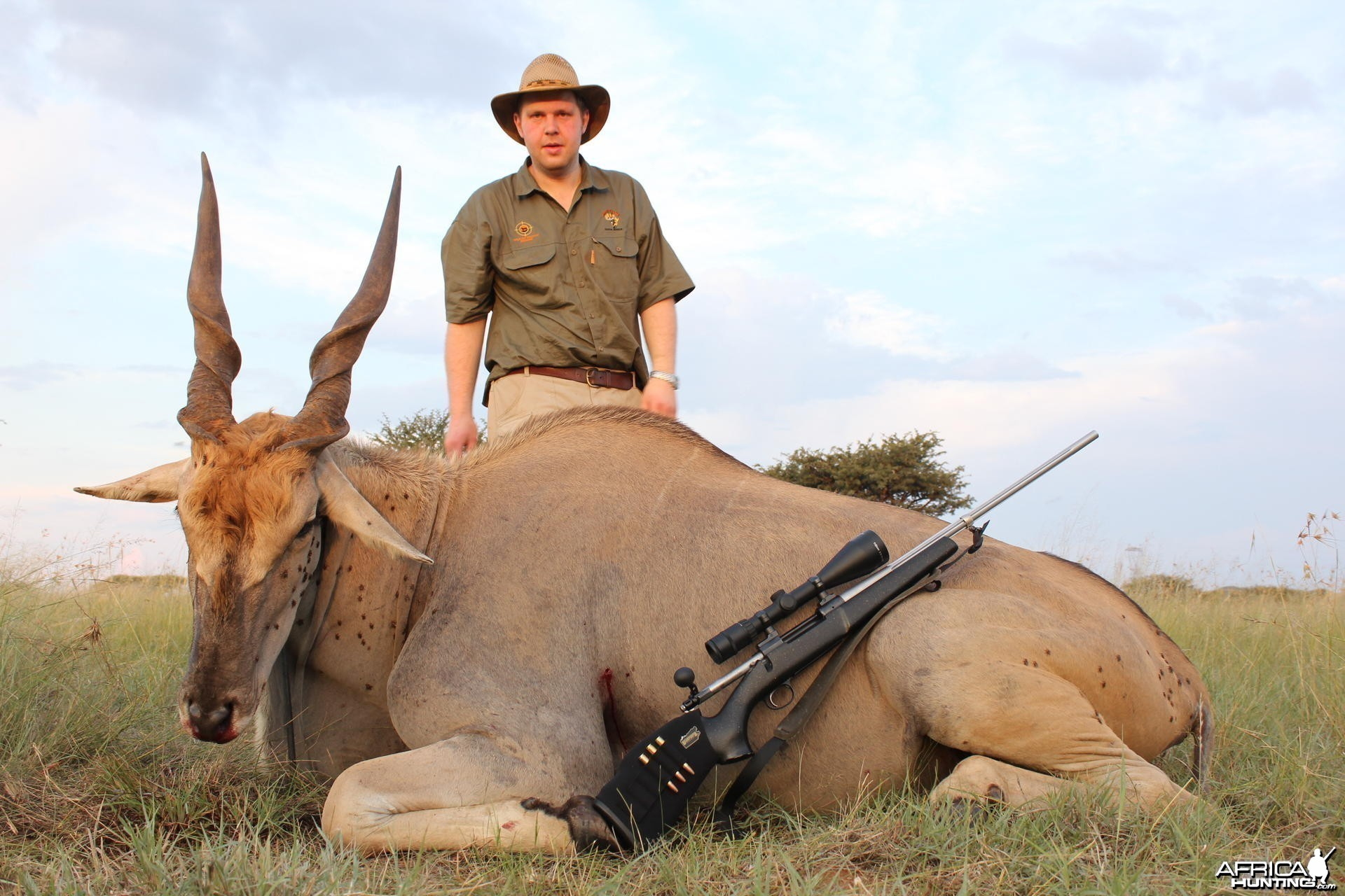 Hunting Eland Kimberley South Africa
