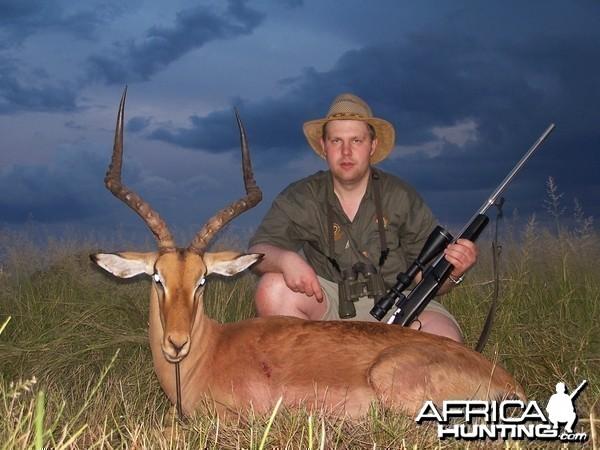 Hunting Impala Kimberley South Africa