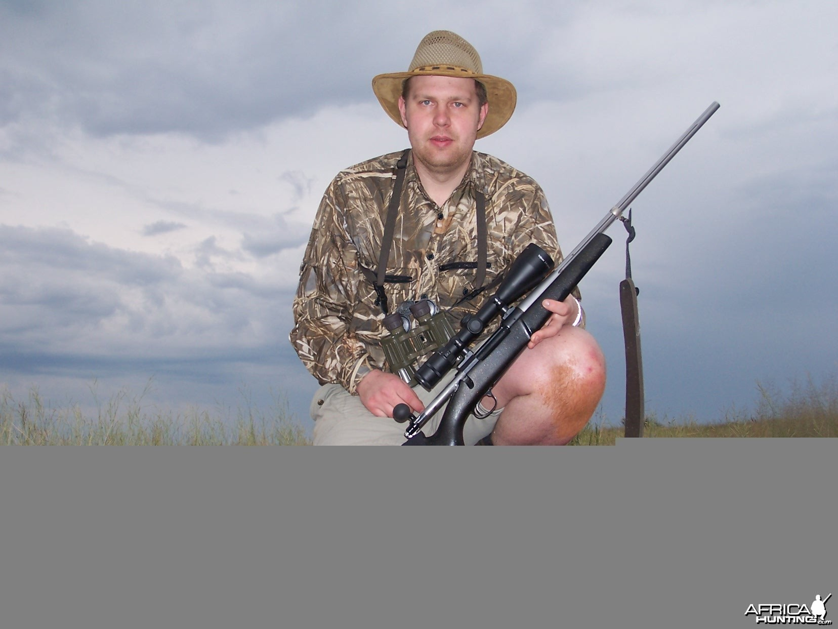 Hunting Jackal Kimberley South Africa