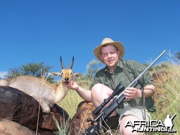 Hunting Mountain Reedbuck Kimberley South Africa