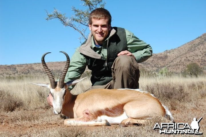 Hunting Springbok South Africa