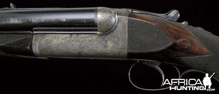 Ernest Hemingway's .577 Nitro Express Double Rifle by Westley Richards