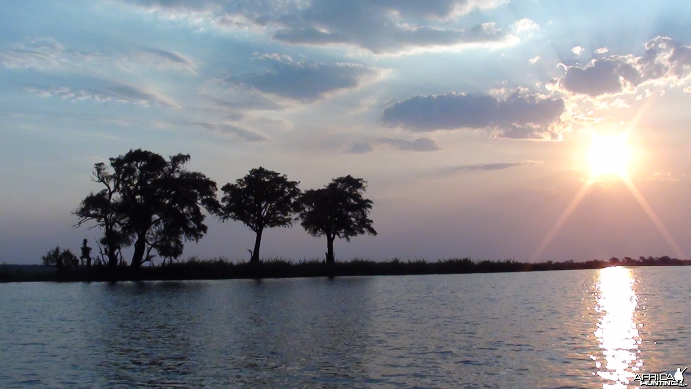 Sunset Caprivi Namibia