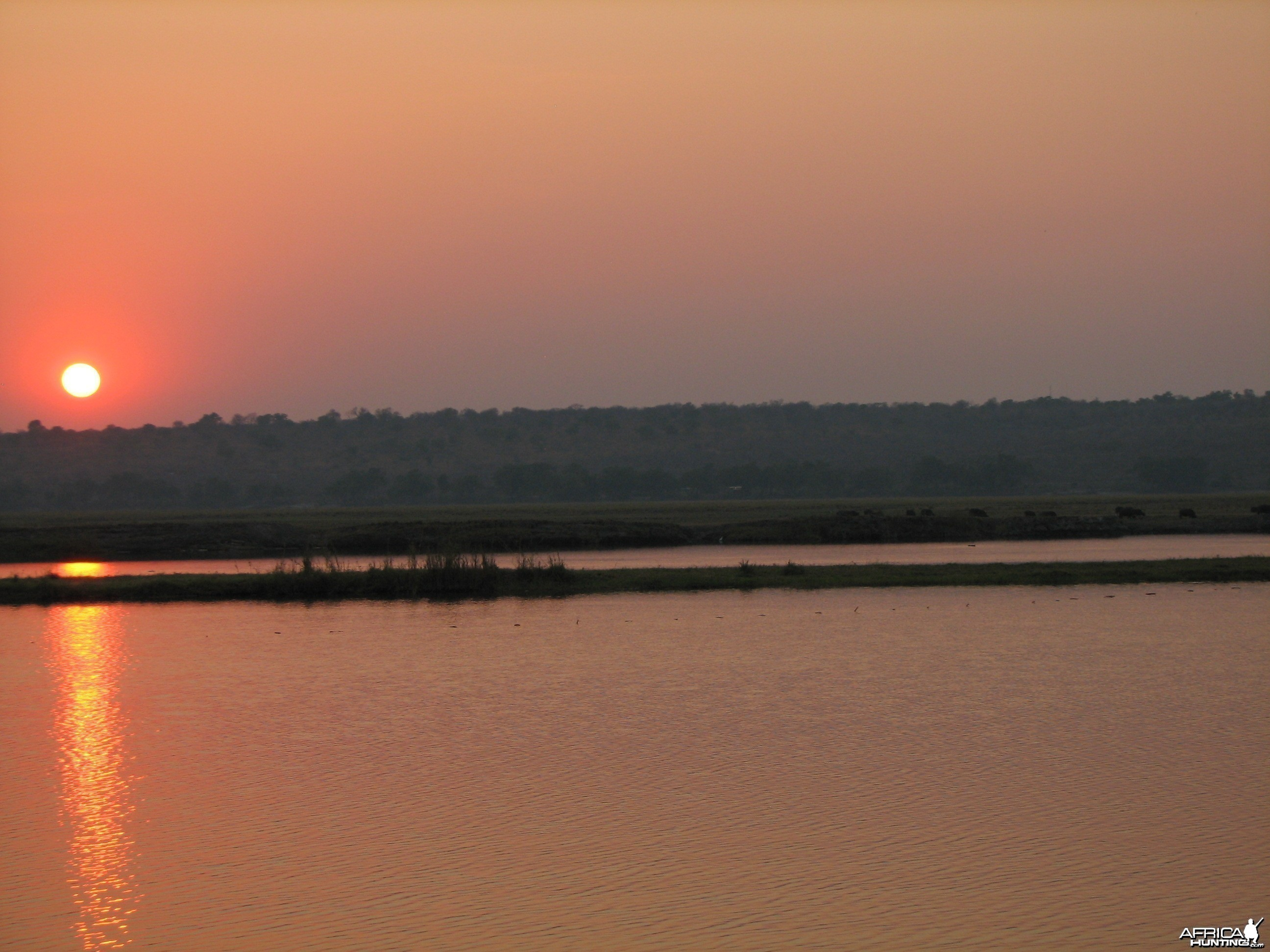 Sunset Caprivi Namibia