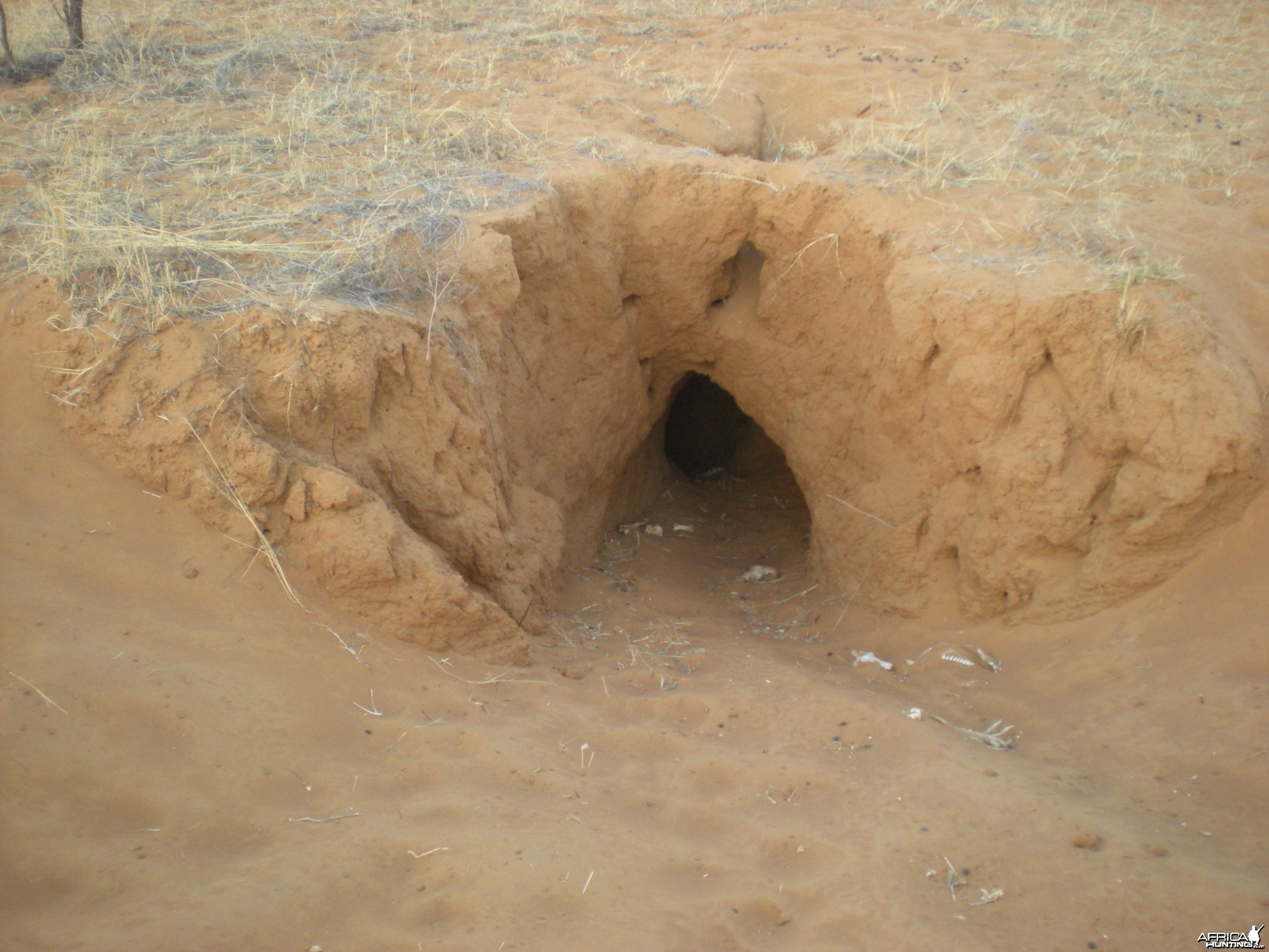 Hole Namibia