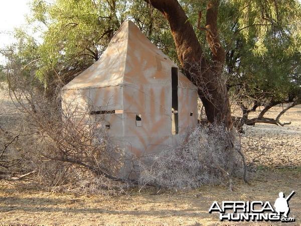 Bowhunting Blind Namibia