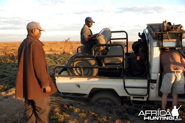 Hunting Zambia