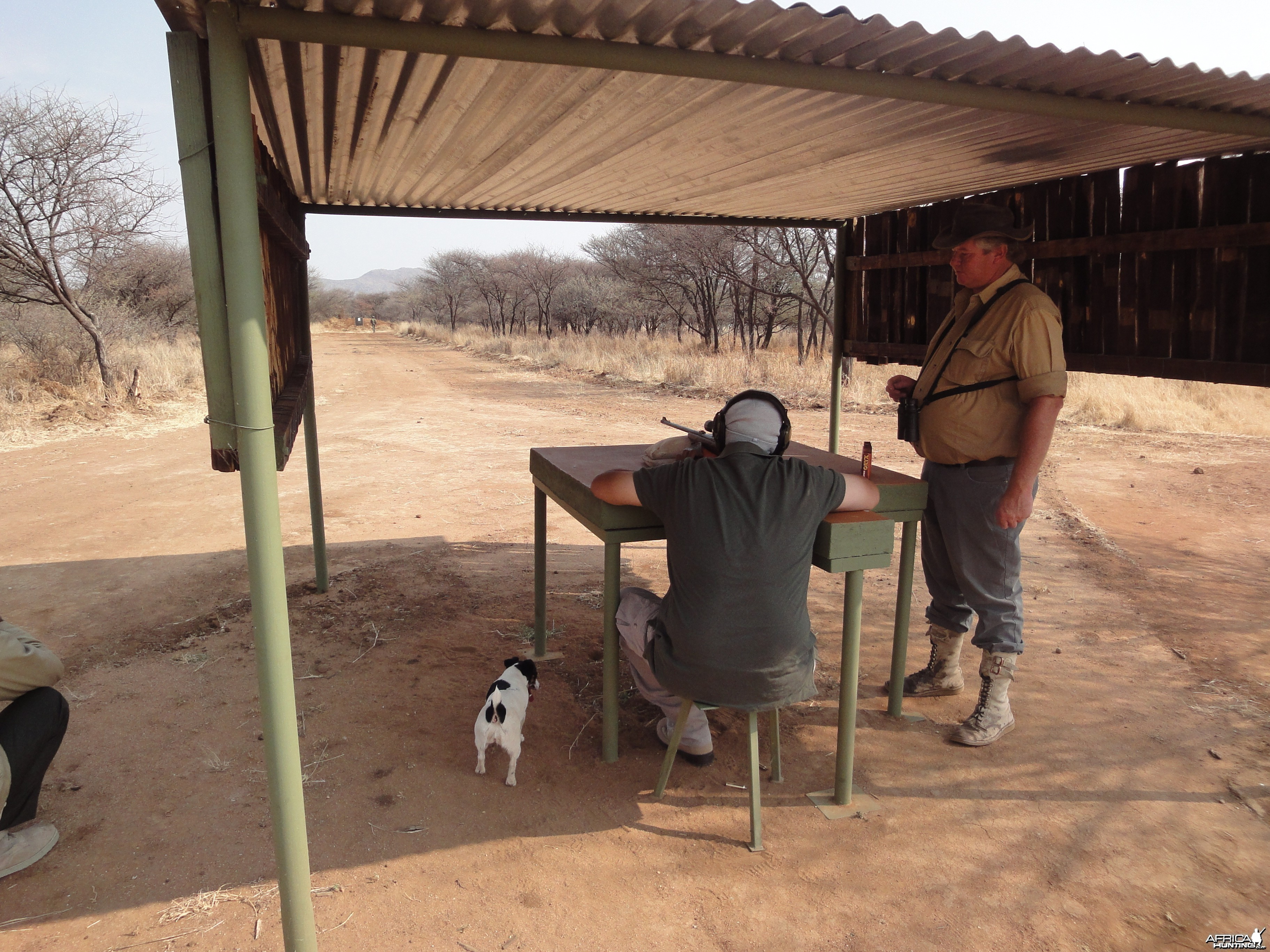 Shooting Range at Ozondjahe Hunting Safaris