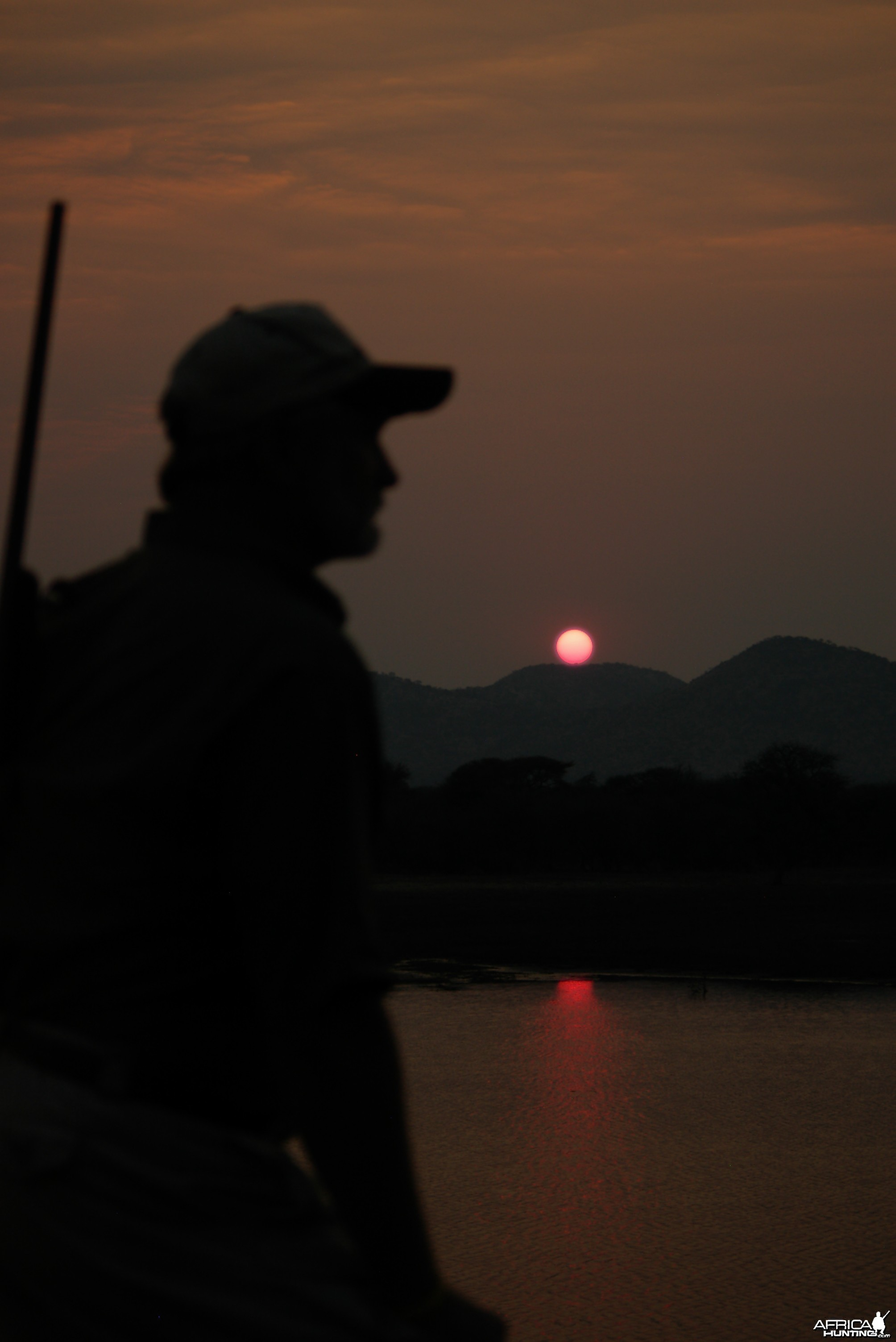Sunset Hunter Namibia