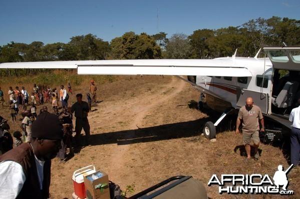 Zambia Charter Flight