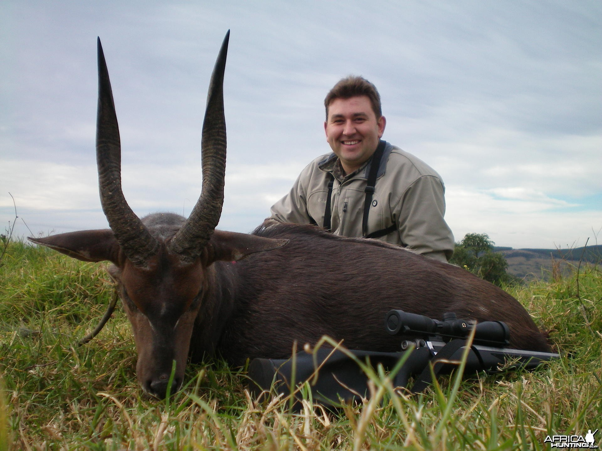 15 inch Bushbuck hunted with muzzleloader in the Eastern cape