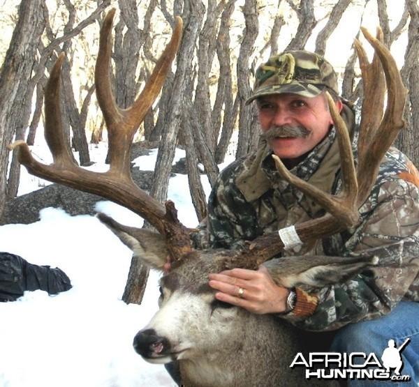 Hunting Mule Deer Buck