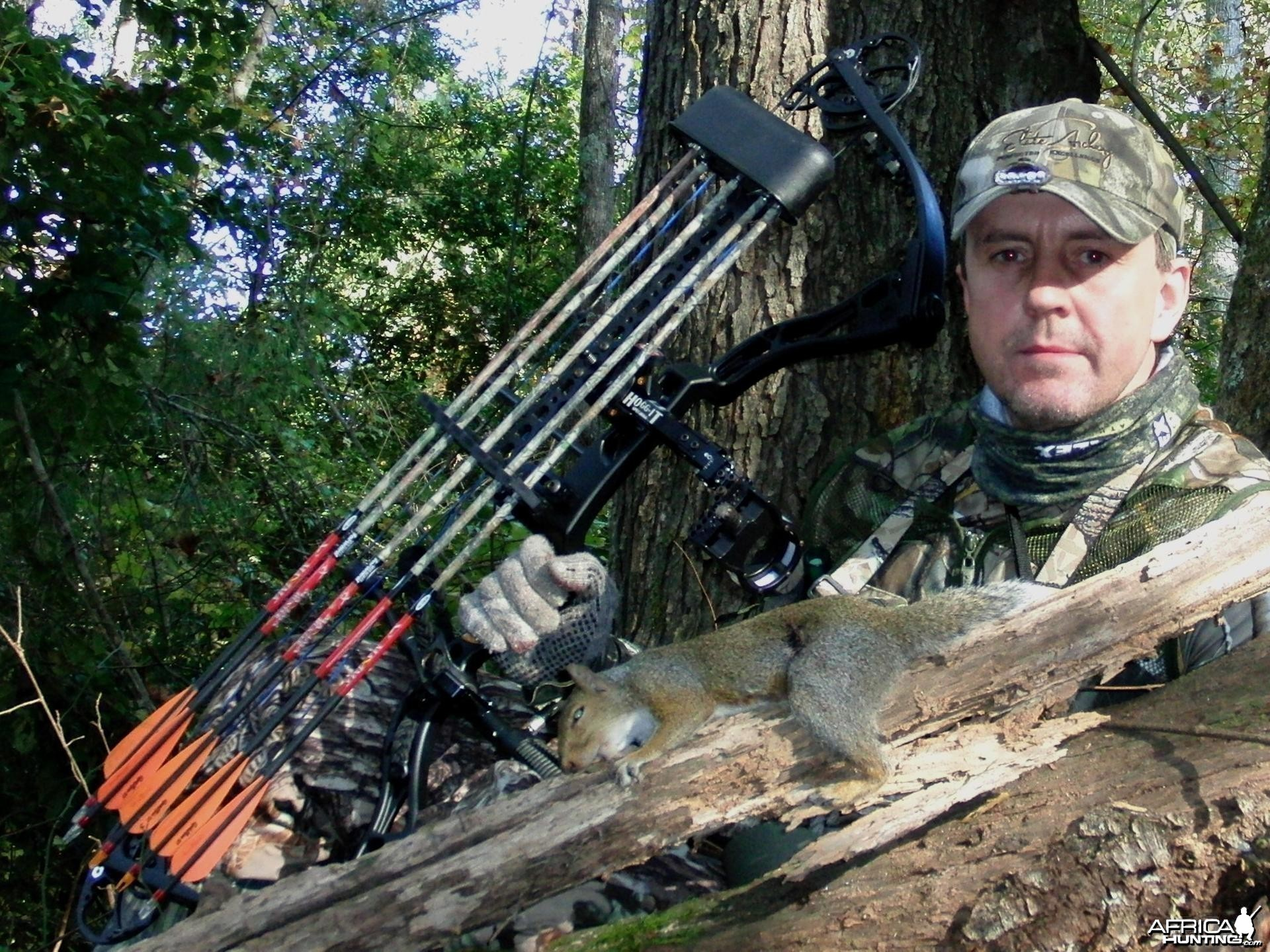 Bowhunting Squirrel