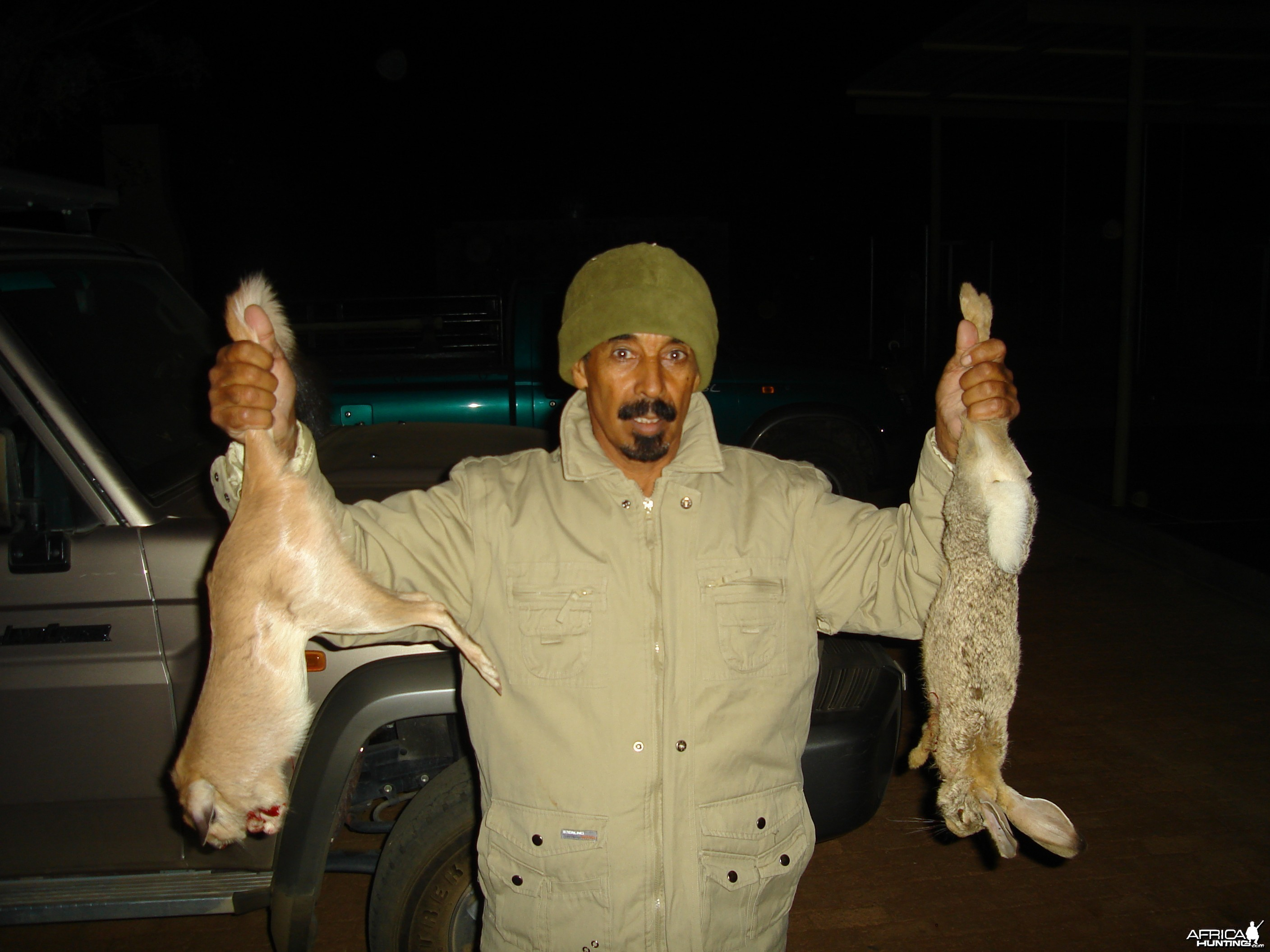 Hunting Springhare and Hare in Namibia