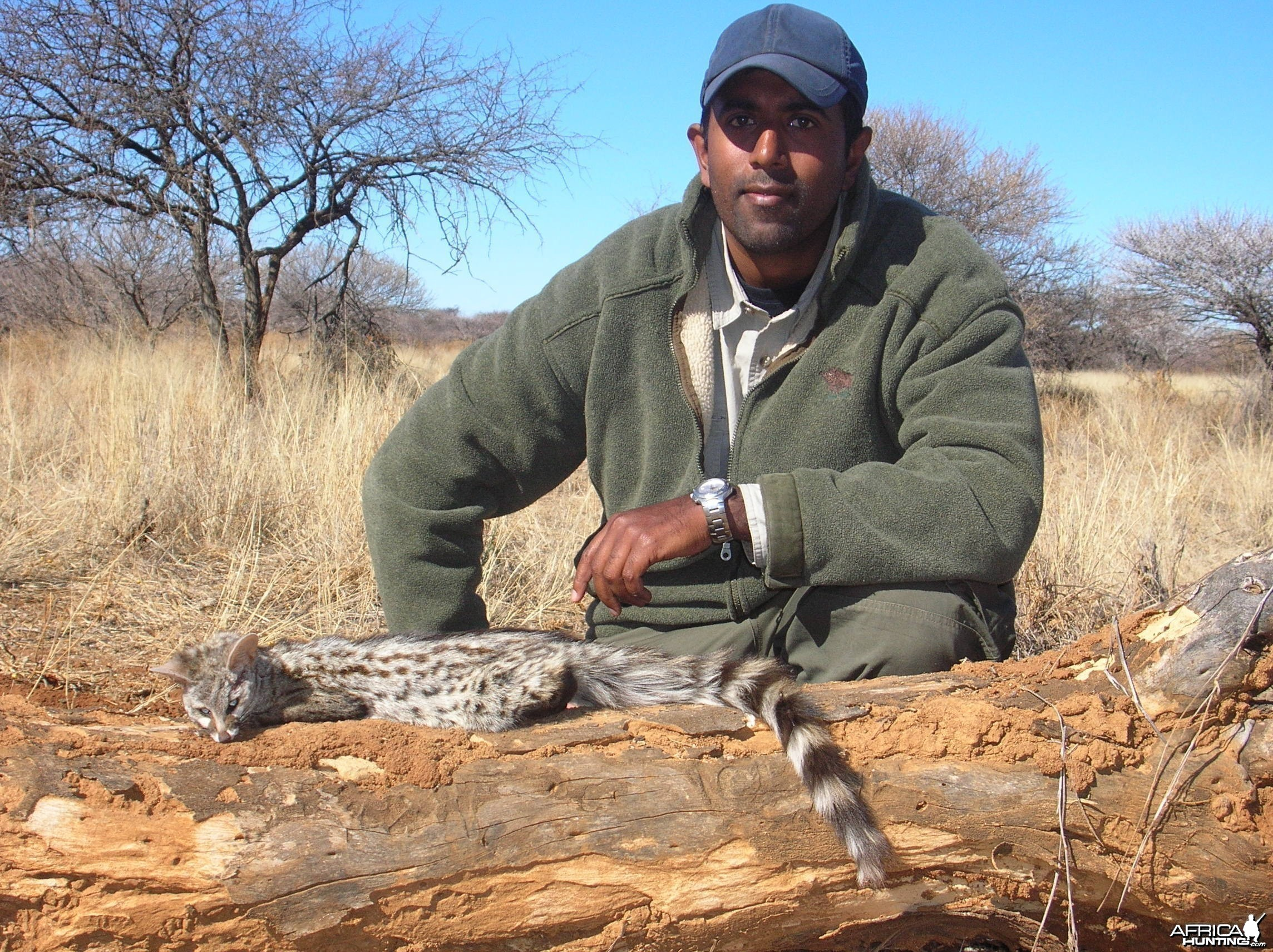Hunting Genet in Namibia