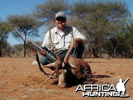 Hunting Blesbok in Namibia