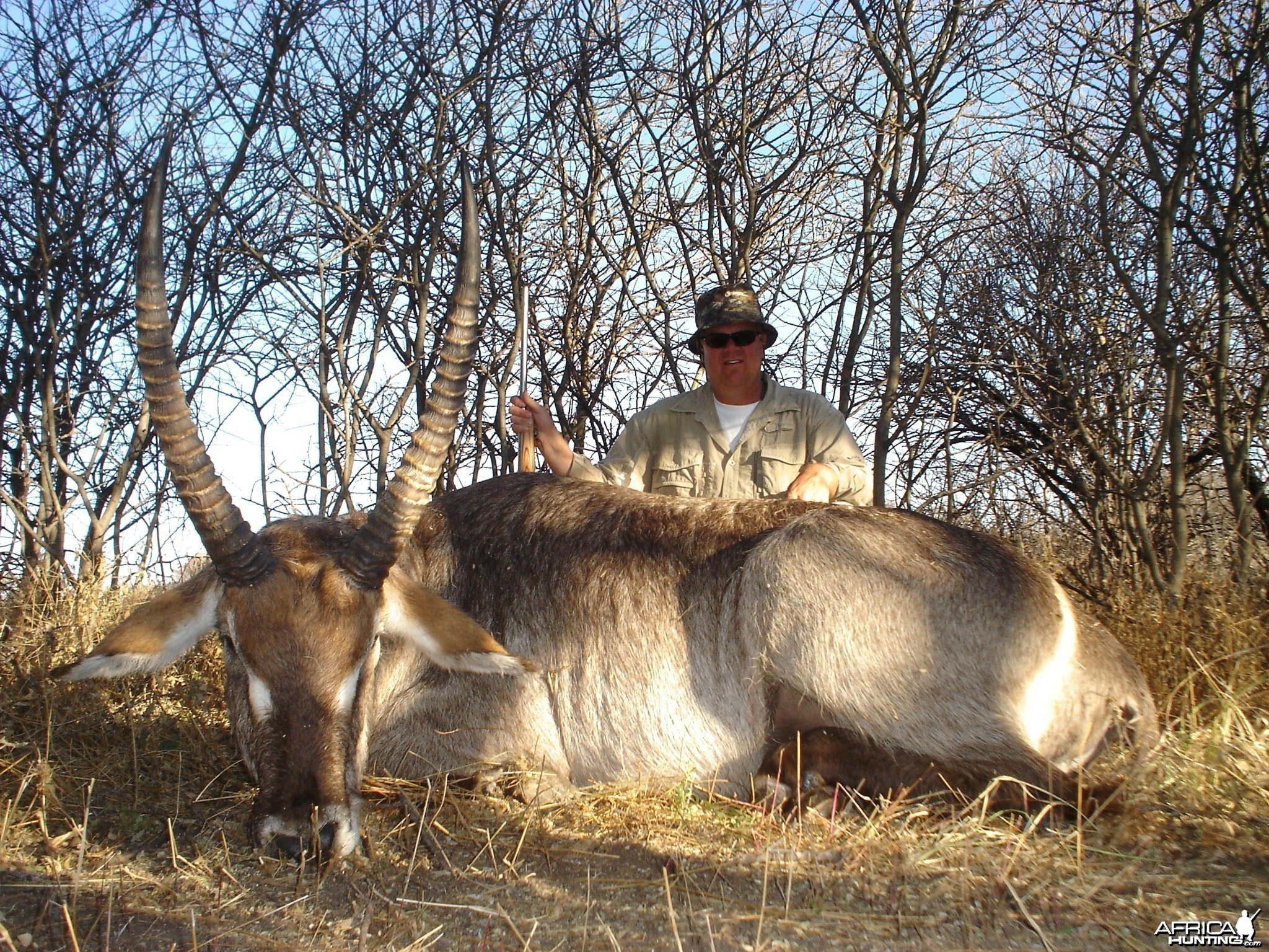 Hunting Waterbuck in Namibia