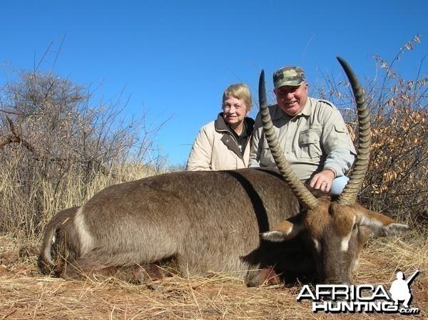 Hunting Waterbuck in Namibia