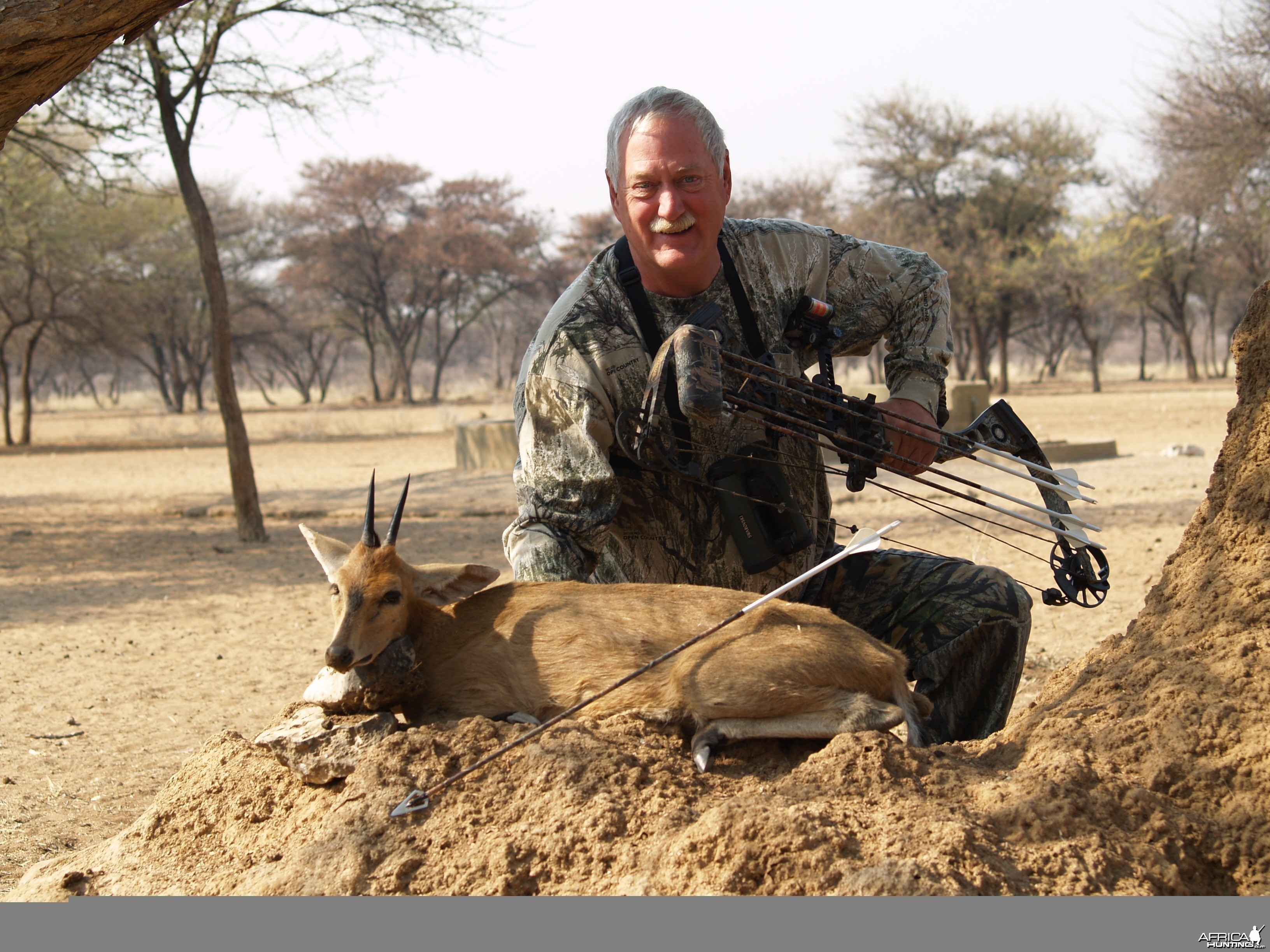 Bowhunting Duiker in Namibia