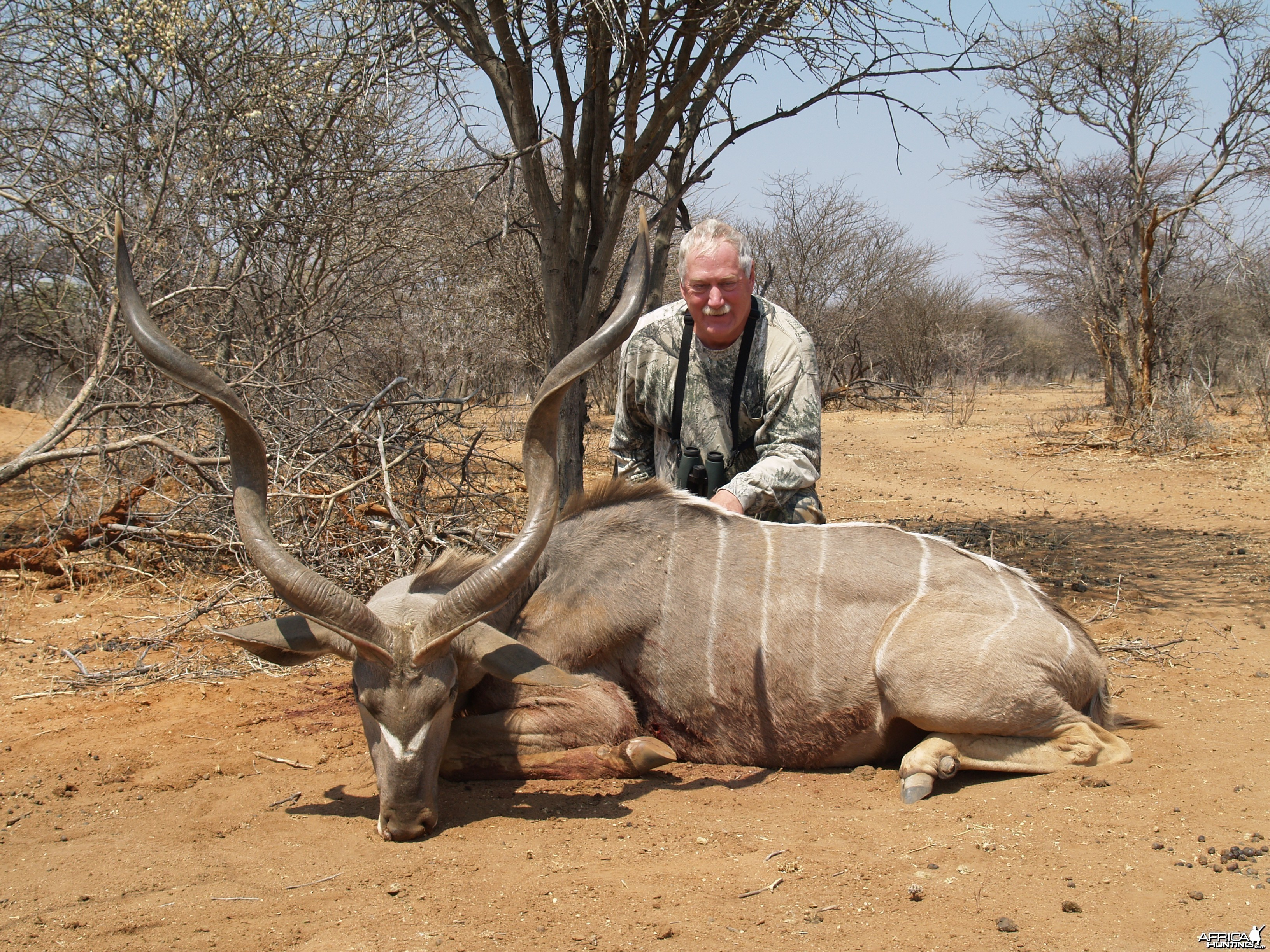 Bowhunting Kudu in Namibia