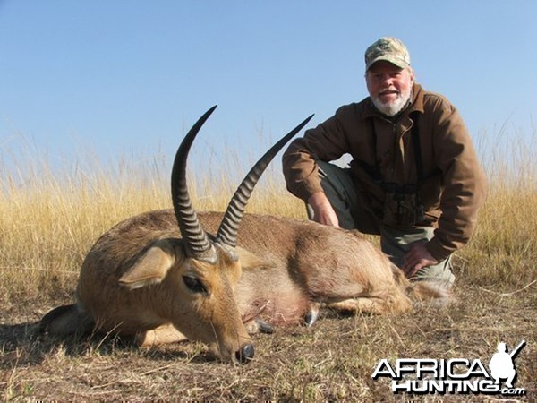 Hunting Common Reedbuck in South Africa with Chris Troskie Safaris
