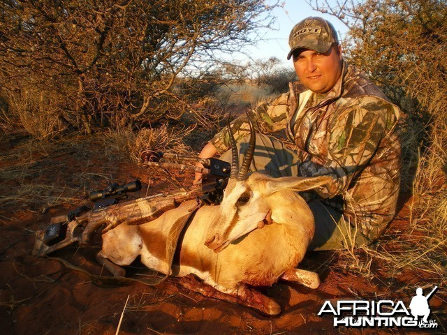 Hunting Springbuck with Croosbow