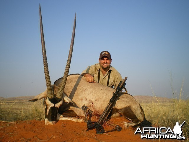 Hunting Gemsbok with Croosbow