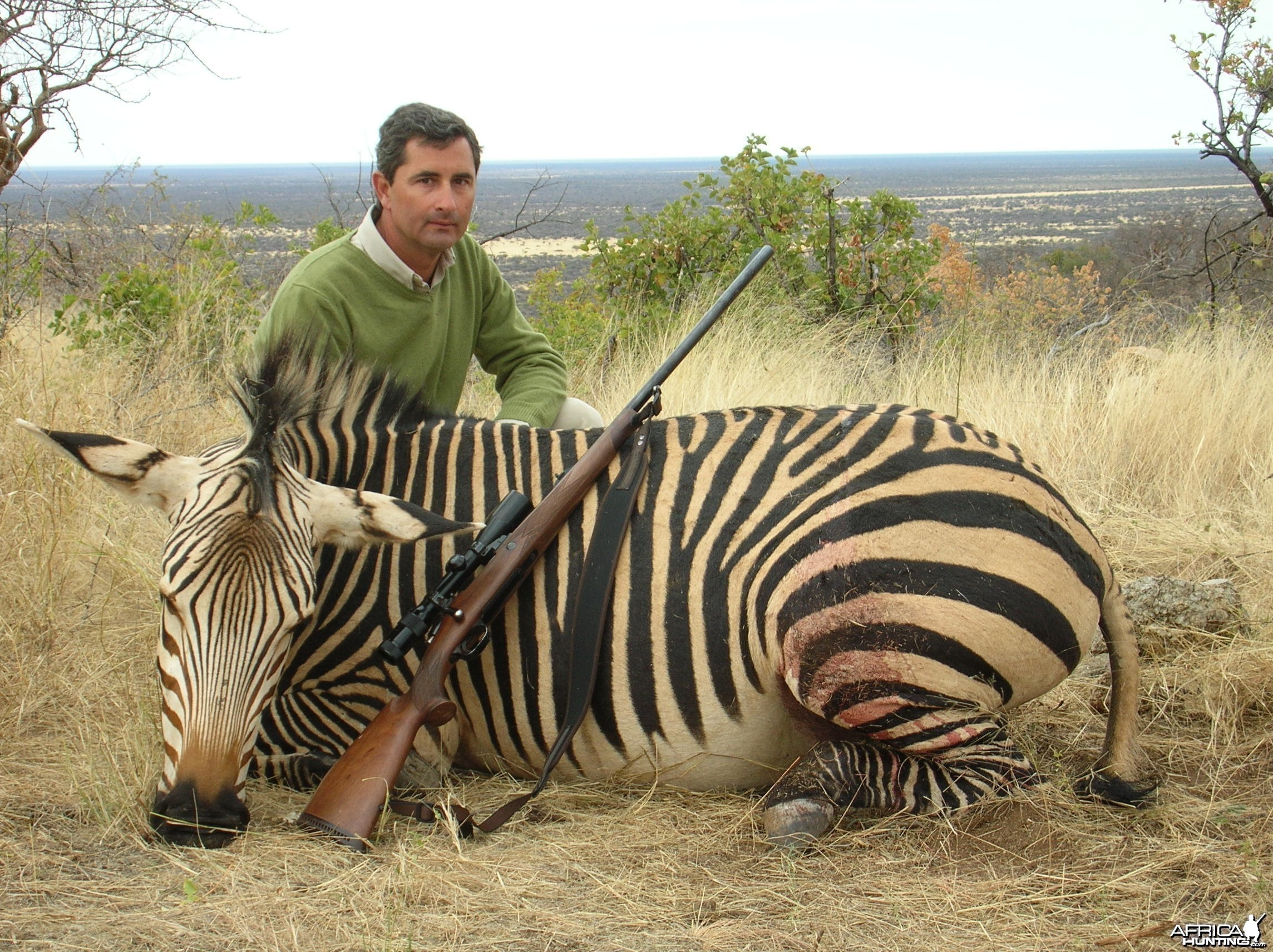 Hunting Hartmann's Mountain Zebra in Namibia