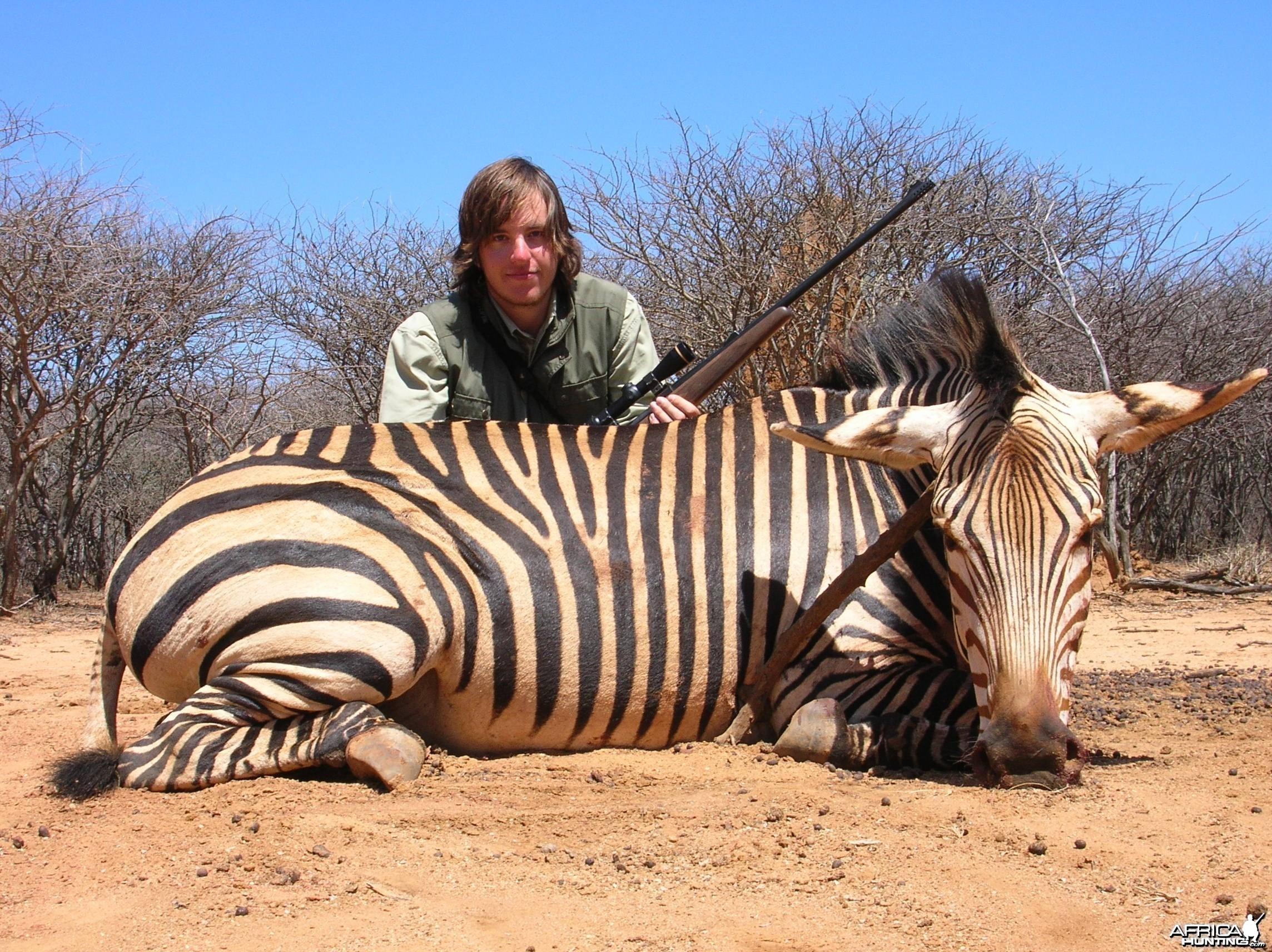 Hunting Hartmann's Mountain Zebra in Namibia