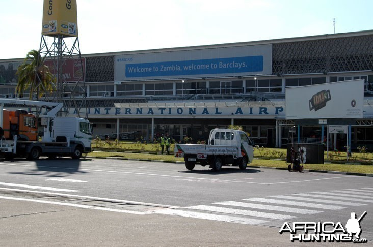 Lusaka International Airport Zambia