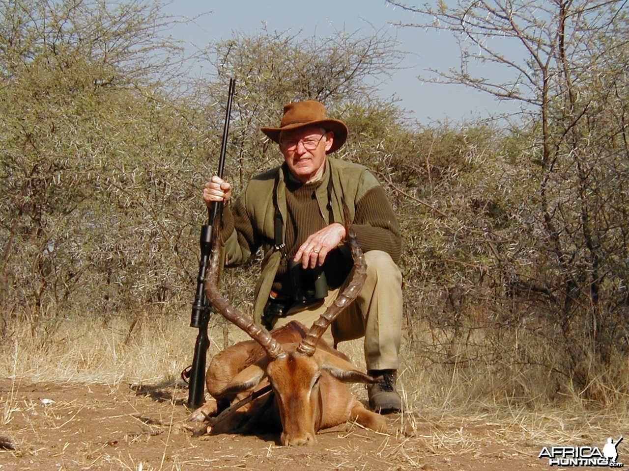 Hunting Impala in Namibia