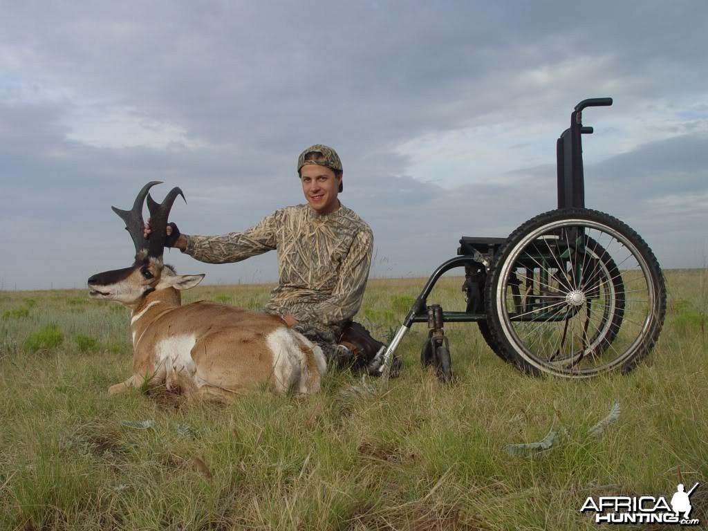 Hunting Pronghorn Antelope