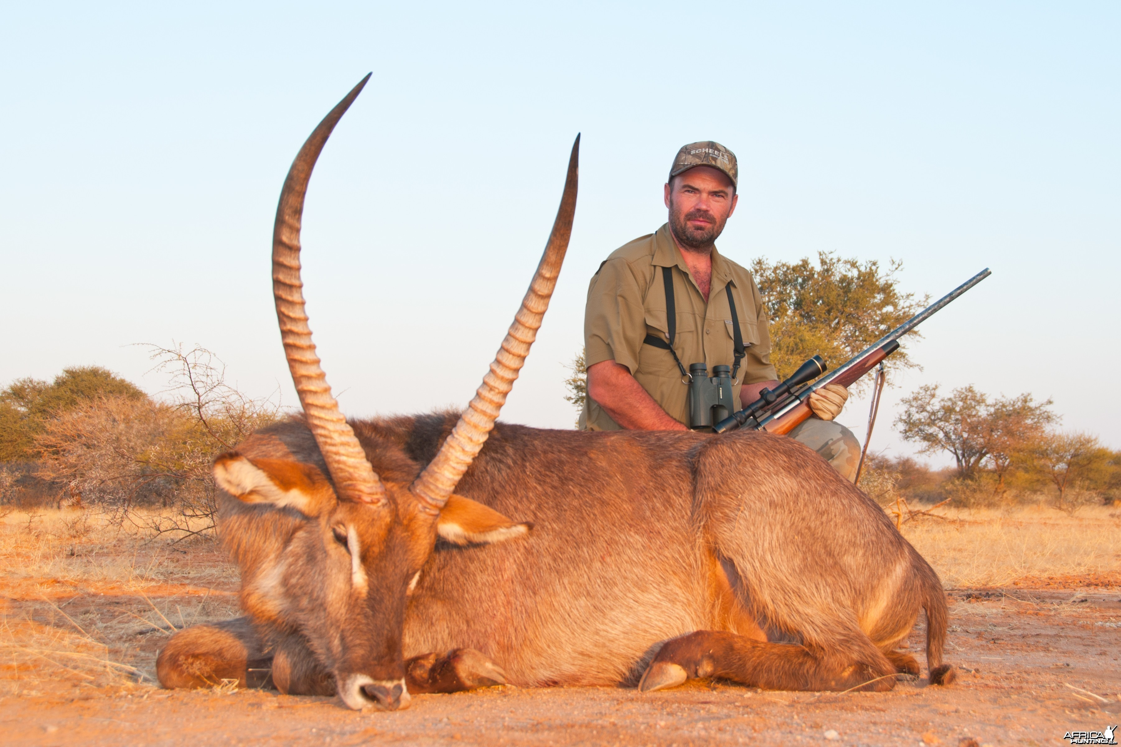 Hunting Waterbuck 2010 RSA
