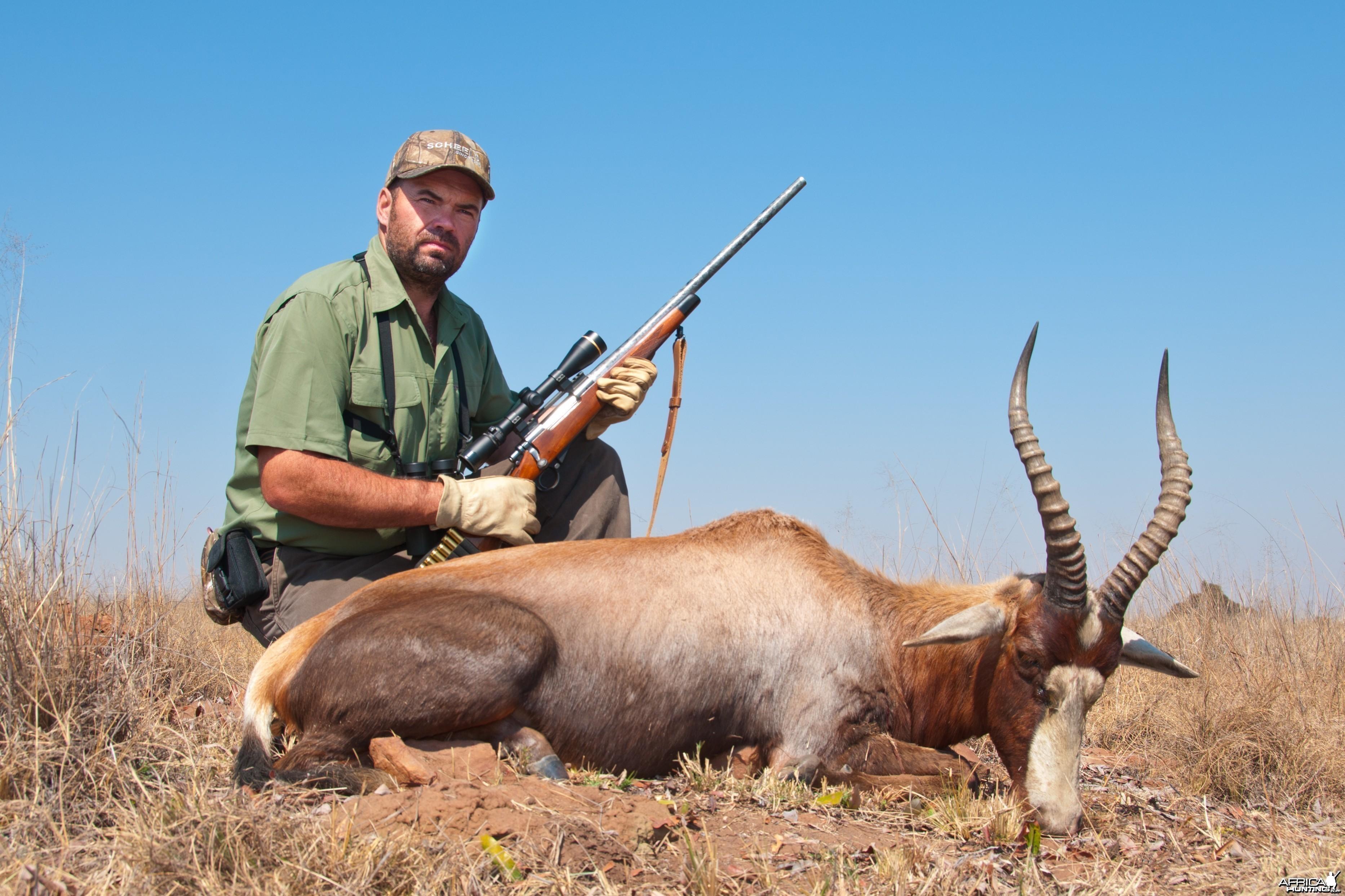 Hunting Blesbuck 2010 RSA