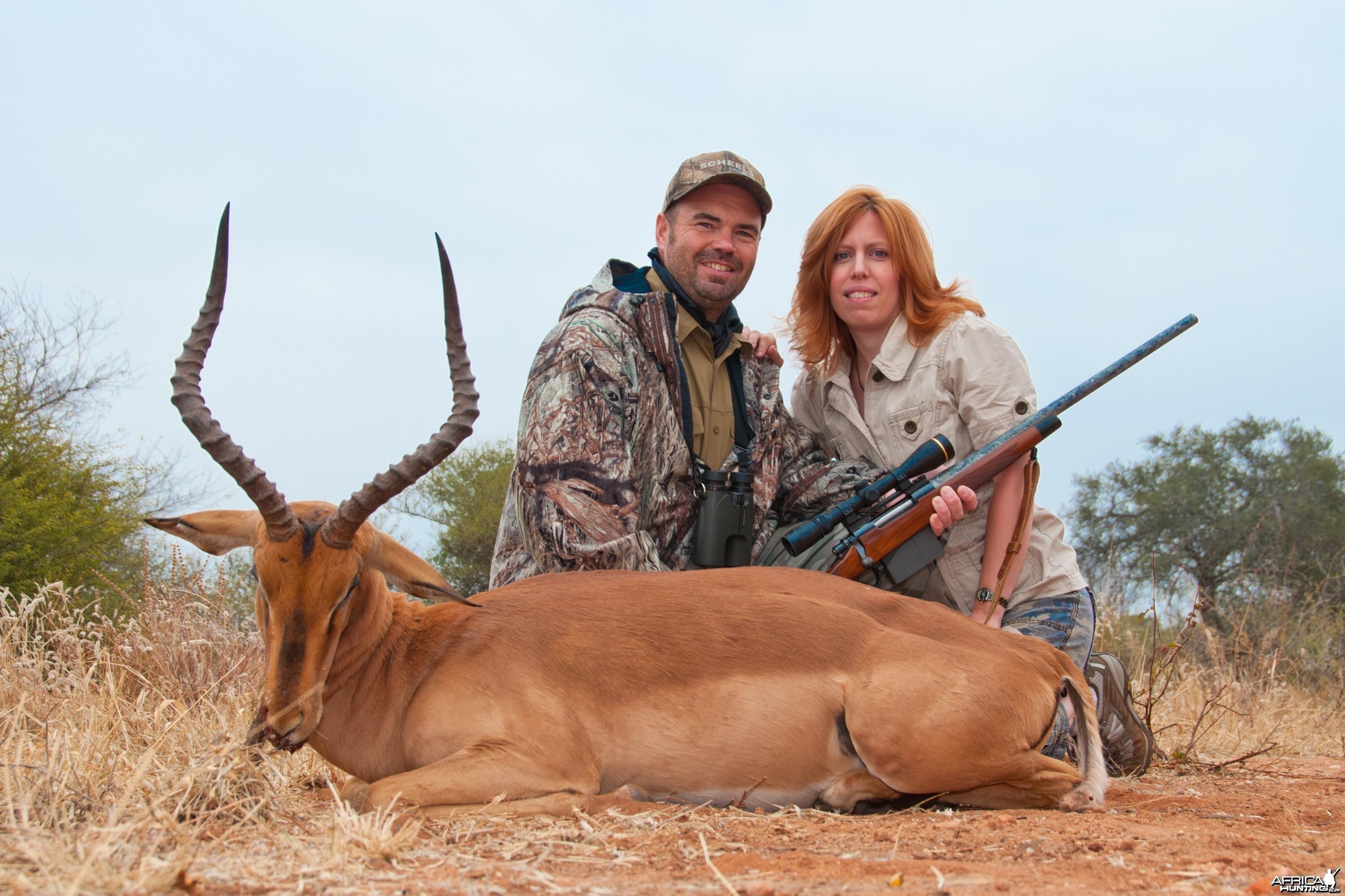 Hunting Impala 2010 RSA