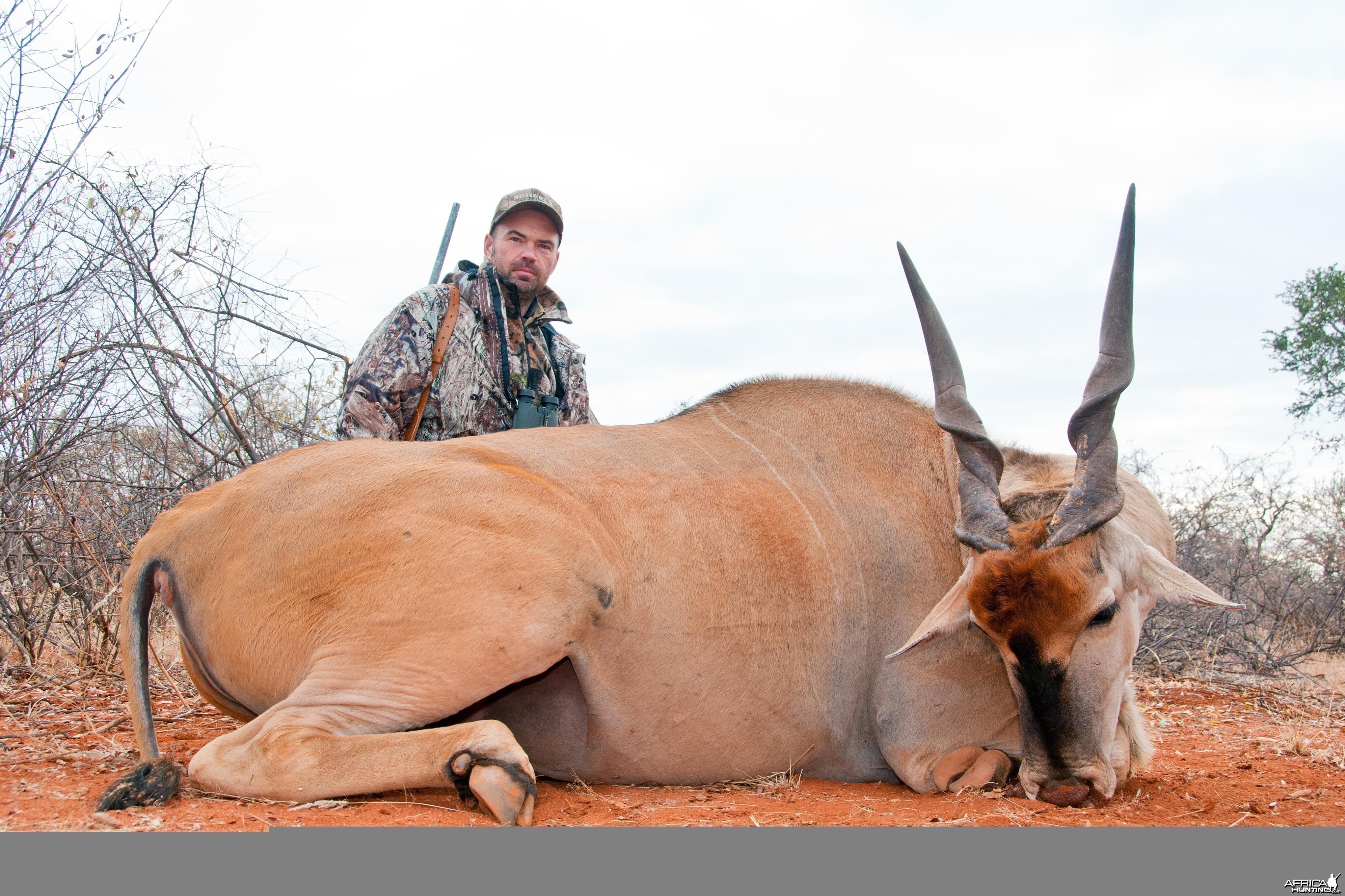 Hunting Eland 2010 RSA