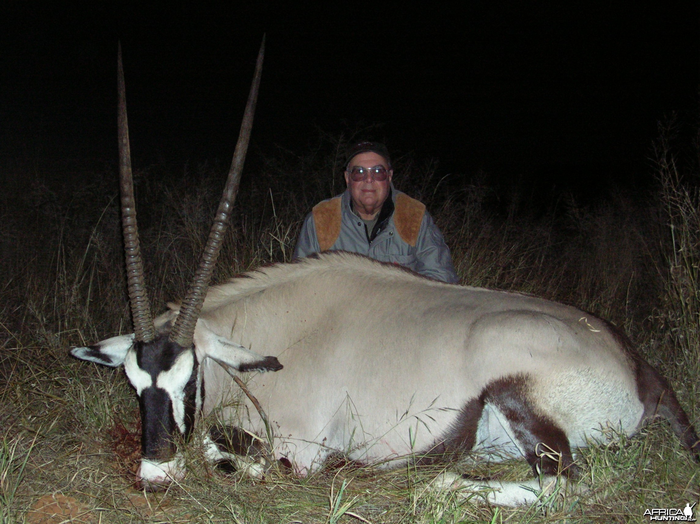 Hunting Gemsbok in Namibia