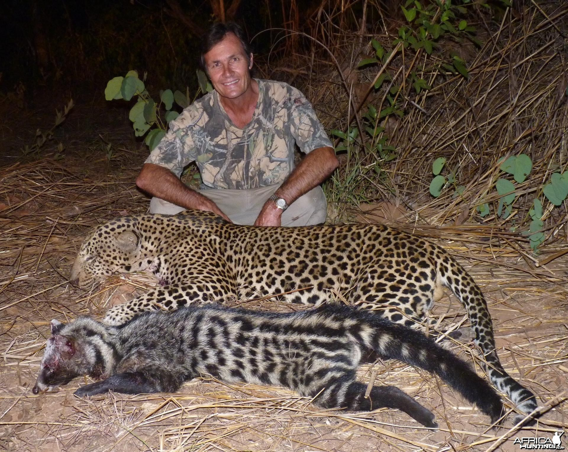 Leopard and Civet hunted in CAR