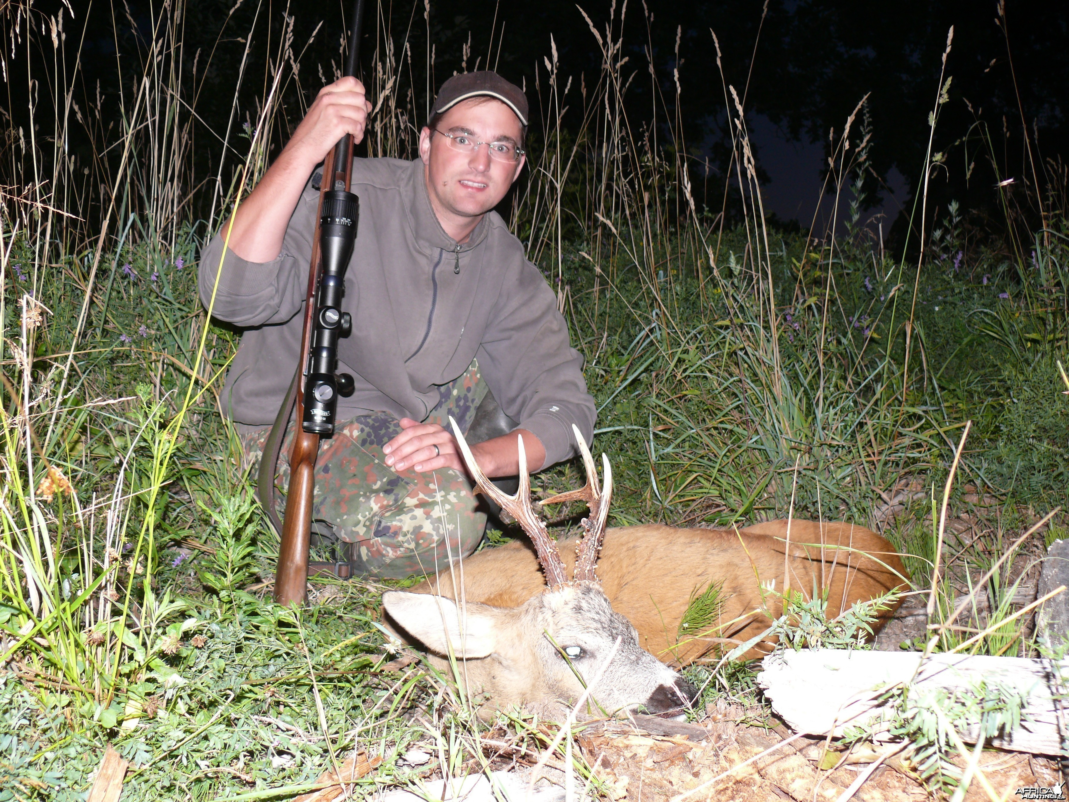 Roe Deer hunt Latvia