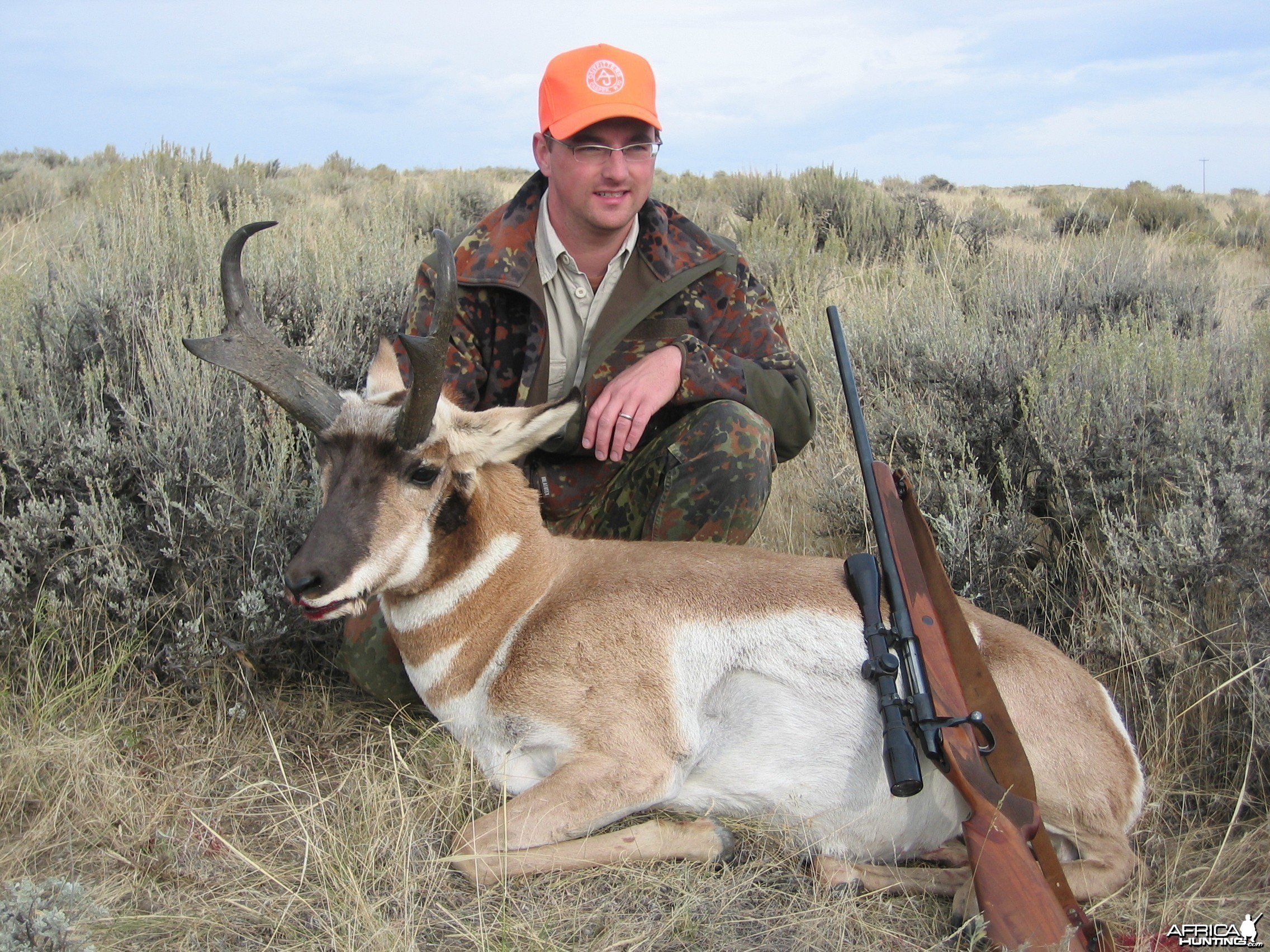 Hunting Pronghorn, Wyoming 2008