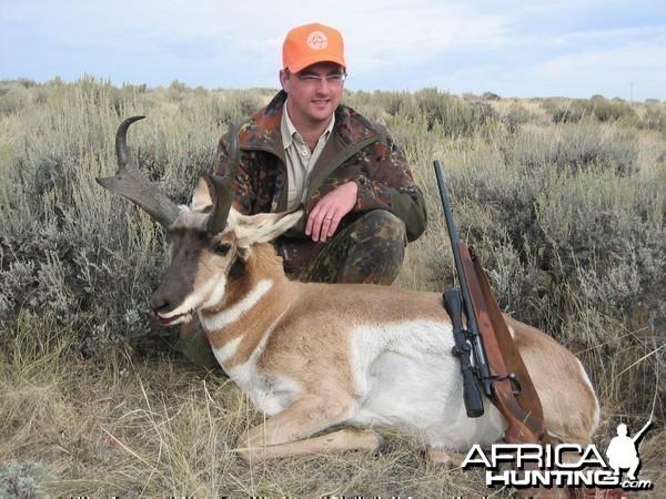 Hunting Pronghorn, Wyoming 2008