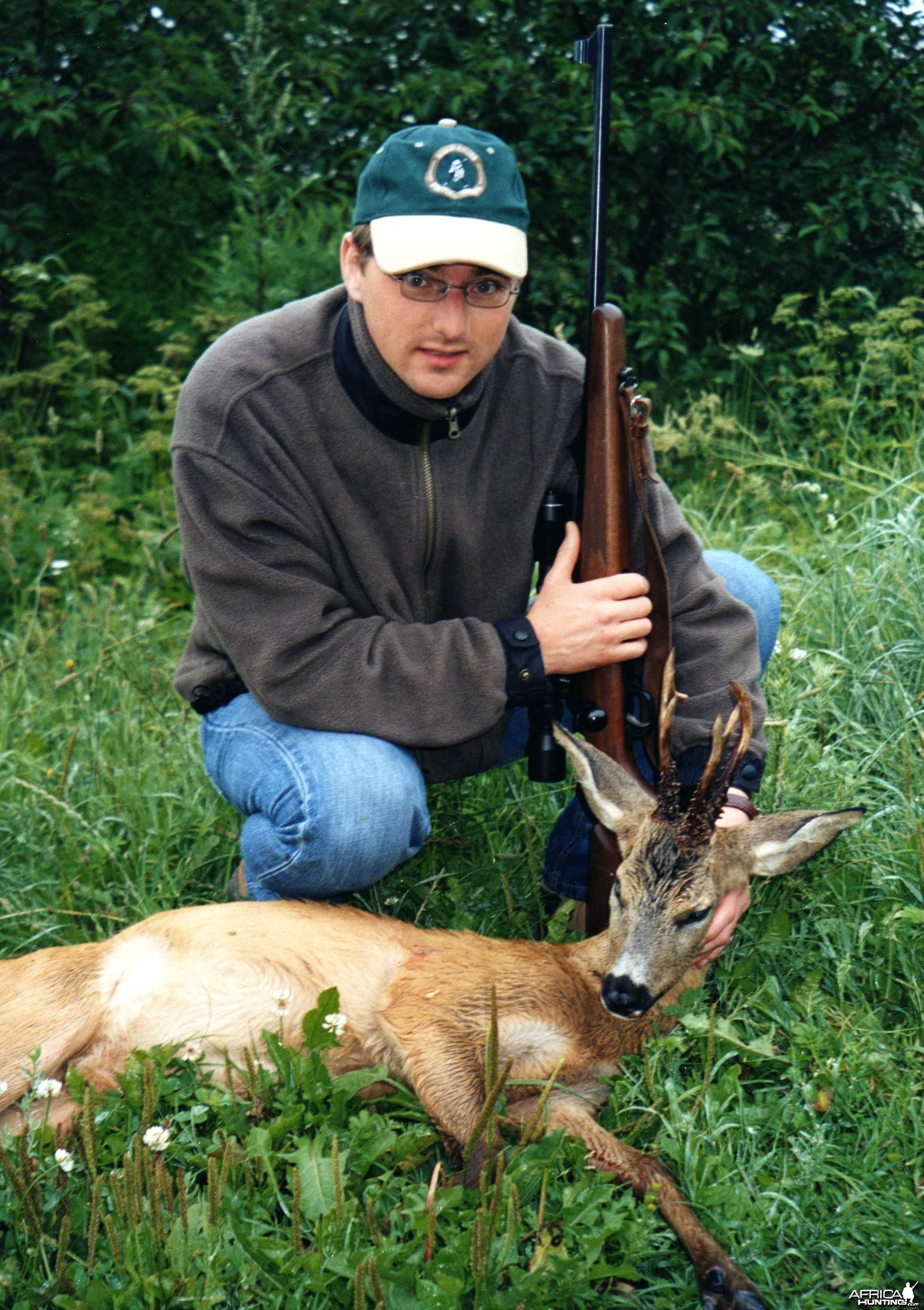 Three-horned roebuck, Latvia 2004
